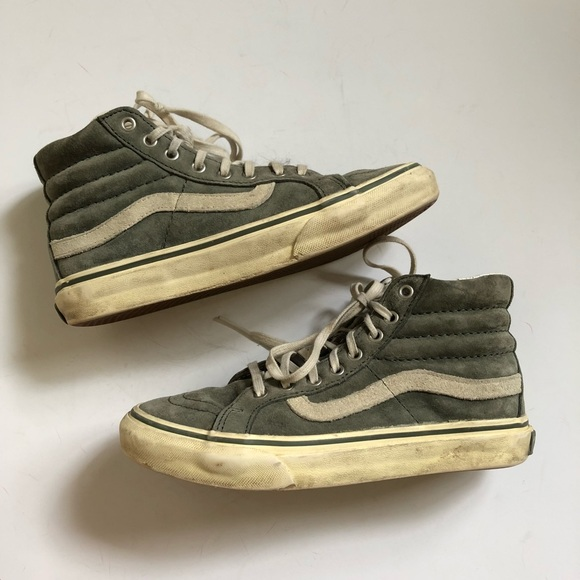 49fc890566 Madewell Shoes - Madewell X Vans Sk8-Hi Reissue Scotch Guard
